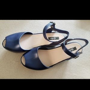 Jelly Wedge Sandals - 9M